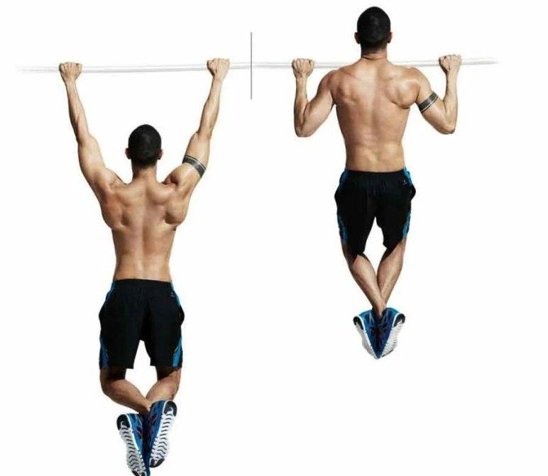 Широкие подтягивания - базовое упражнение домашних тренировок для прокачки спины