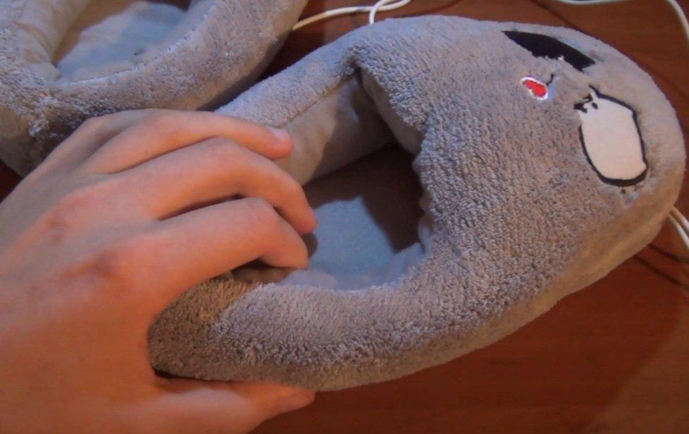 Тапка с подогревом - избавят от проблемы вечно замерзших ног